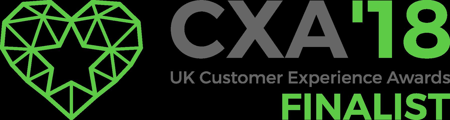 CXA18 Finalist logo