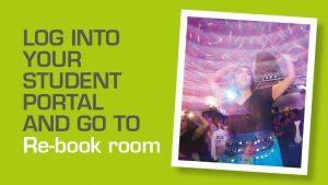 Log into your student portal